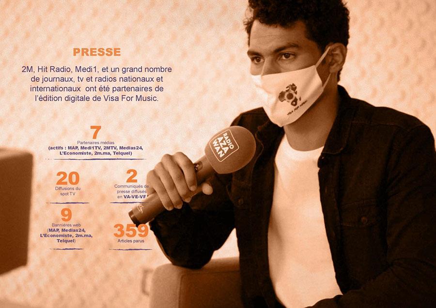 Presse Visa For Music 2021